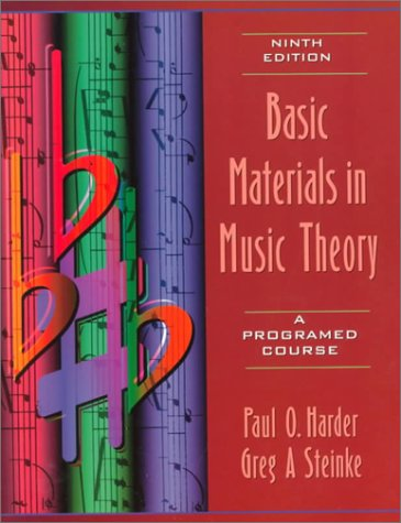 9780205295845: Basic Materials in Music Theory: A Programed Course: A Programmed Course