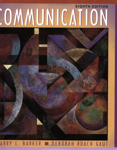 9780205295876: Communication (8th Edition)