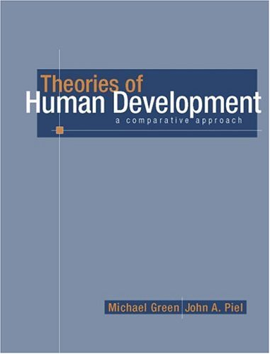 9780205296477: Theories of Human Development: A Comparative Approach