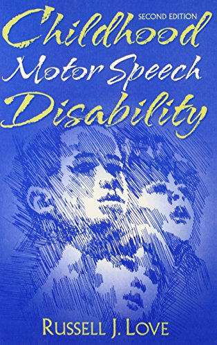 9780205297818: Childhood Motor Speech Disability
