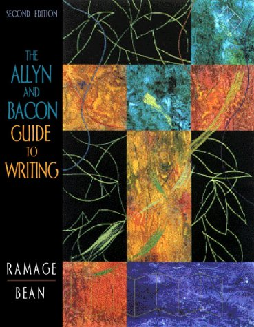 9780205297917: The Allyn & Bacon Guide to Writing (2nd Edition)