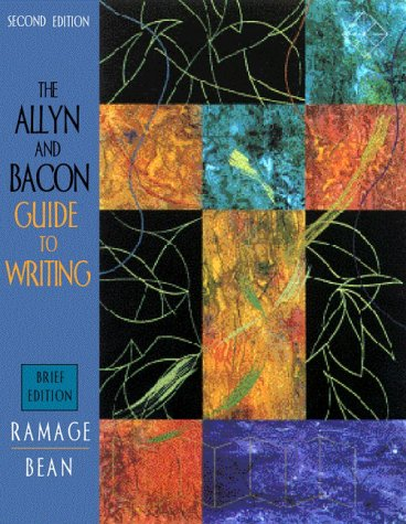9780205297924: The Allyn & Bacon Guide to Writing (Brief 2nd Edition)