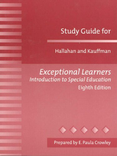9780205298204: Study Guide for Exceptional Learners: Introduction to Special Education