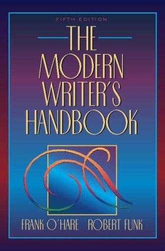 9780205298990: The Modern Writer's Handbook