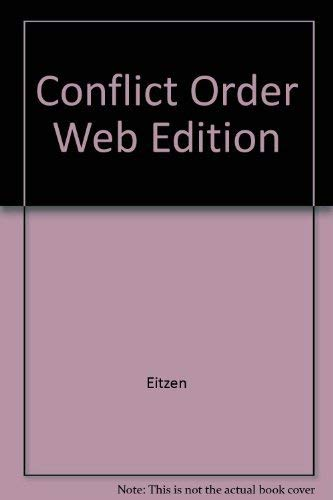 9780205299423: In Conflict and Order: Understanding Society