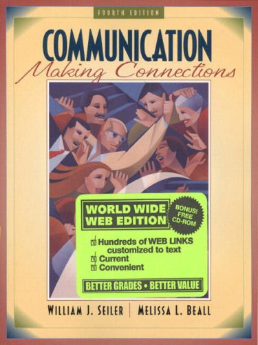 9780205299485: Communication: Making Connections