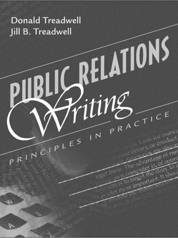 9780205300150: Public Relations Writing: Principles in Practice