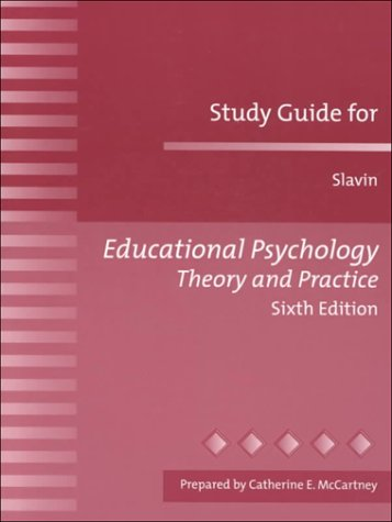 9780205302215: Educational Psychology Theory and Practice (Study Guide)