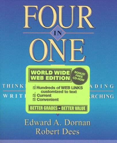 9780205302673: Four in One: Thinking, Reading, Writing, Researching