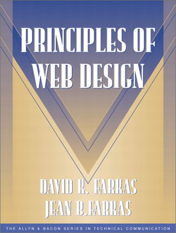 9780205302918: Principles of Web Design (Part of the Allyn & Bacon Series in Technical Communication)