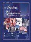 9780205304011: Essentials of American Government: Continuity and Change