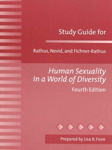 9780205305537: Study Guide for Human Sexuality in a World of Diversity