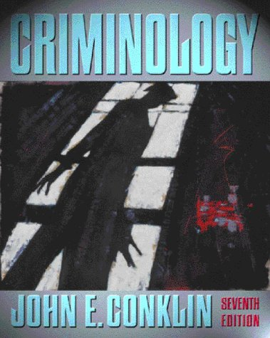 9780205307753: Criminology (7th Edition)
