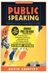 9780205307890: Public Speaking: Strategies for Success