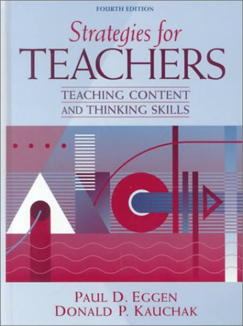 9780205308088: Strategies for Teachers: Teaching Content and Thinking Skills (4th Edition)