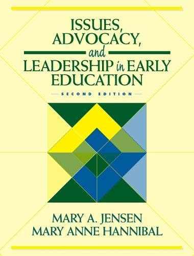 9780205308118: JENSEN: ISS ADVOCACY EARLY CHIL _p2 (2nd Edition)