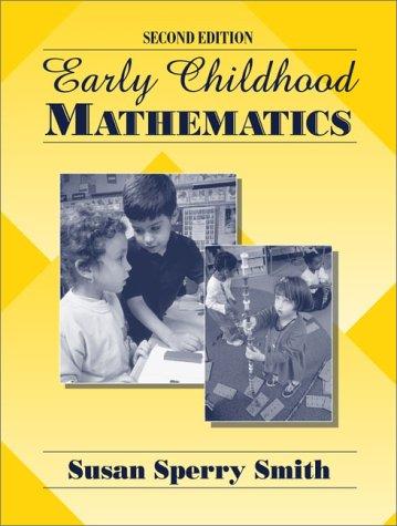 9780205308132: Early Childhood Mathematics (2nd Edition)