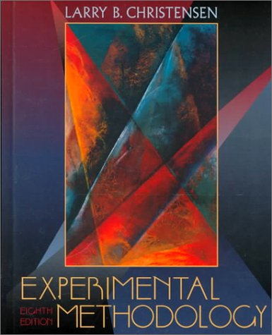 9780205308323: Experimental Methodology (8th Edition)