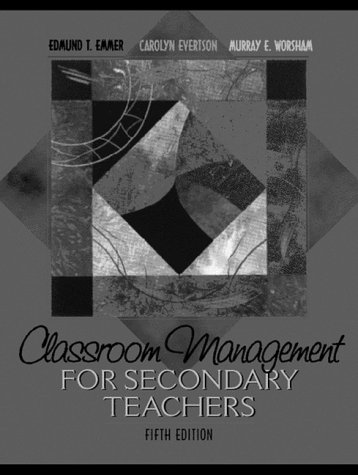 9780205308378: Classroom Management for Secondary Teachers