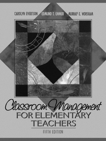 9780205308385 Classroom Management For Elementary Teachers 5th