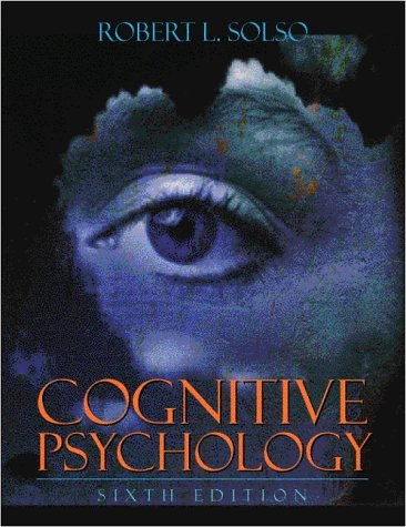 9780205309375: Cognitive Psychology (6th Edition)