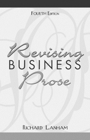 9780205309443: Revising Business Prose (4th Edition)