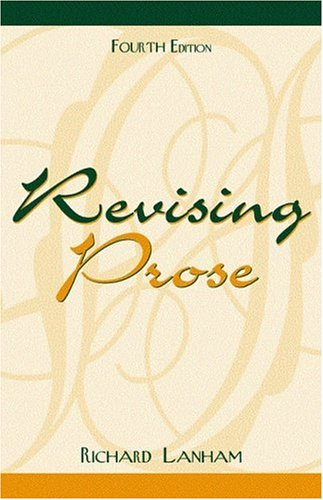 9780205309450: Revising Prose (4th Edition)