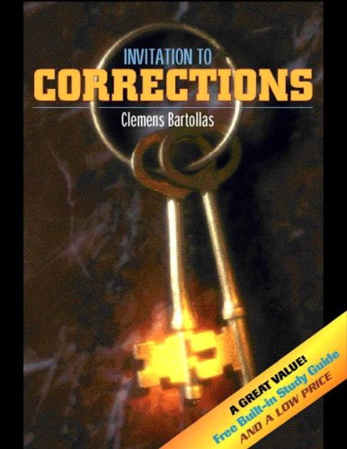 Invitation to Corrections (with Built-in Study Guide) (9780205314126) by Bartollas, Clemens