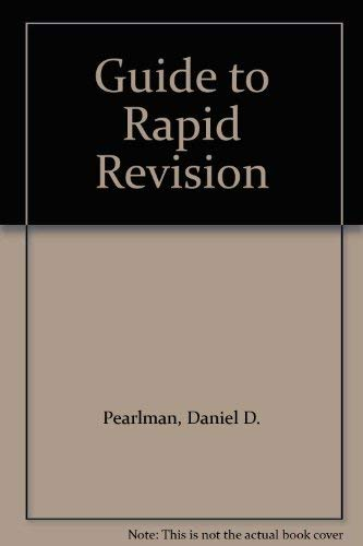 9780205314539: Guide to Rapid Revision