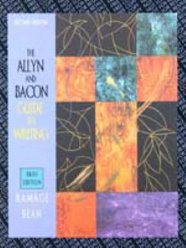 9780205316687: The Allyn & Bacon Guide to Writing