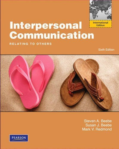 9780205317318: Interpersonal Communication: Relating to Others