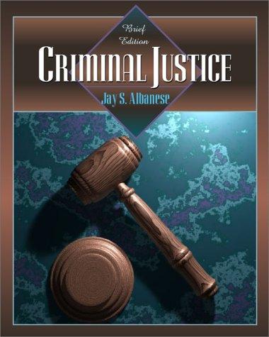 9780205318117: Criminal Justice: Brief Edition