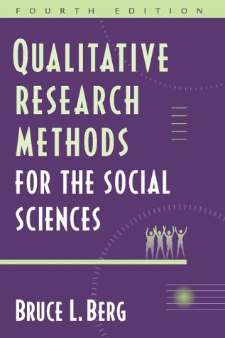 9780205318476: Qualitative Research Methods for the Social Sciences (4th Edition)