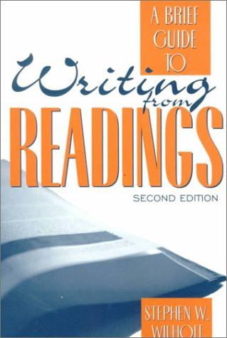 9780205319077: A Brief Guide to Writing from Readings (2nd Edition)