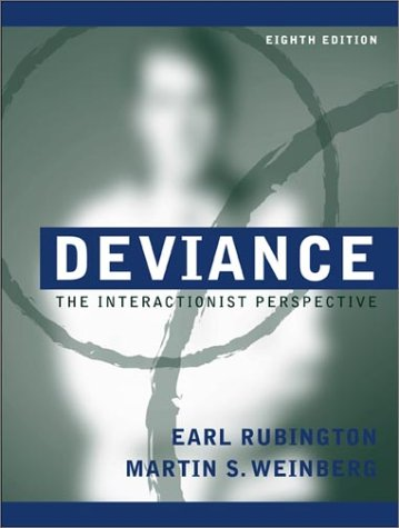 9780205319084: Deviance: The Interactionist Perspective (8th Edition)