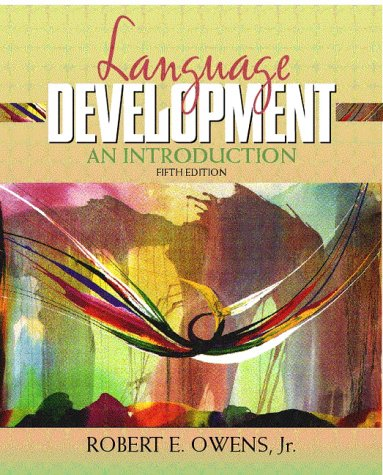 9780205319268: Language Development: An Introduction (5th Edition)
