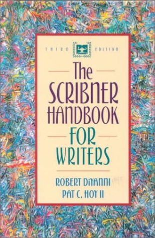 9780205319817: The Scribner Handbook for Writers (3rd Edition)