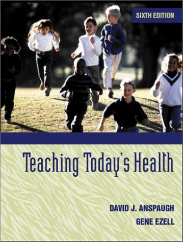 9780205320400: Teaching Today's Health (6th Edition)