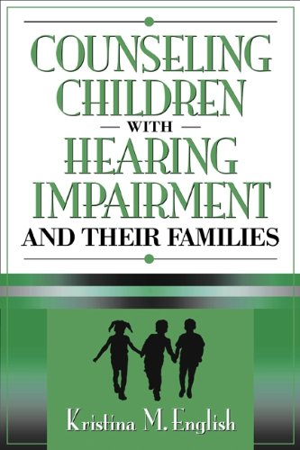 9780205321445: Counseling Children with Hearing Impairments and Their Families