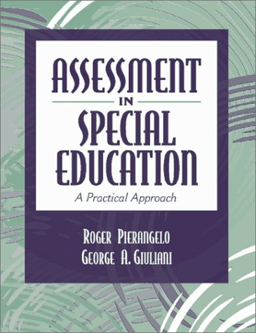 9780205321469: Assessment in Special Education: A Practical Approach