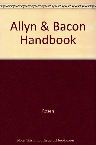 9780205322640: The Allyn & Bacon Handbook (Interactive Edition)