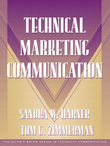 9780205324446: Technical Marketing Communication [Part of the Allyn & Bacon Series in Technical Communication]