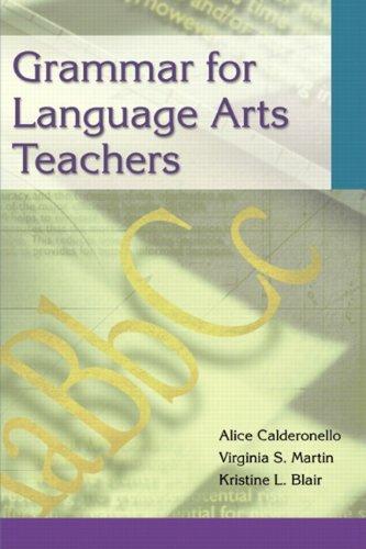 9780205325276: Grammar for Language Arts Teachers