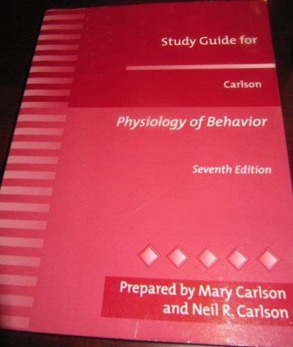 9780205325887: Physiology of Behaviour: Study Guide