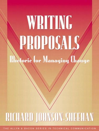 9780205326891: Writing Proposals: Rhetoric for Managing Change