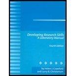 9780205327195: Developing Research Skills: A Laboratory Manual