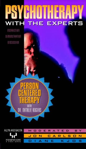 9780205328857: Person-Centered Therapy with Dr. Natalie Rogers [VHS]