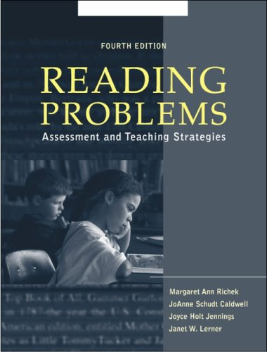 9780205330225: Reading Problems: Assessment and Teaching Strategies (4th Edition)