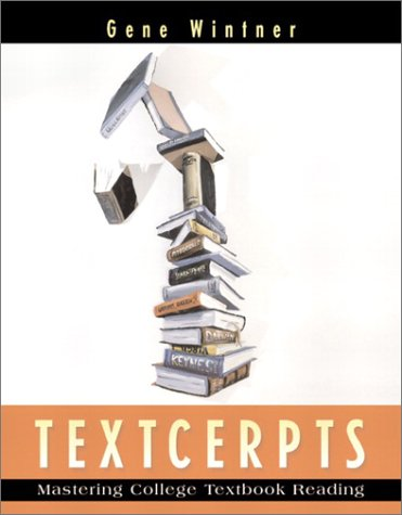 9780205330843: Textcerpts: Mastering College Textbook Reading