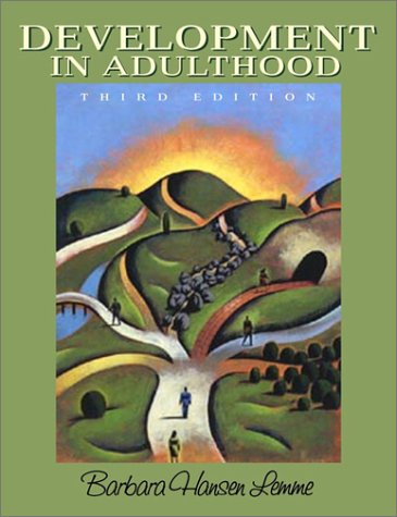 9780205331741: Development in Adulthood (3rd Edition)